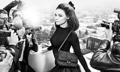 Мила Кунис рассказала о работе с Dior