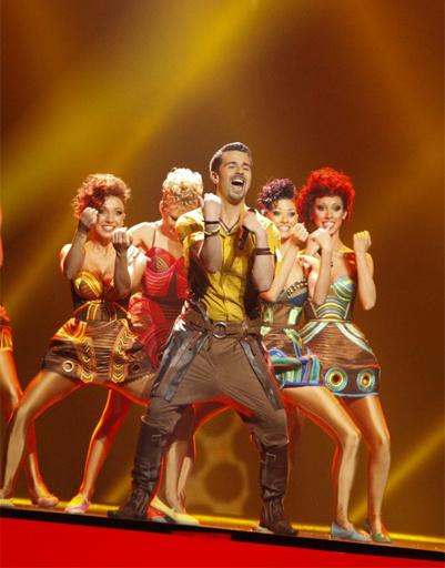 """Конкурсант от Молдовы на """"Евровидении""""-2012."""