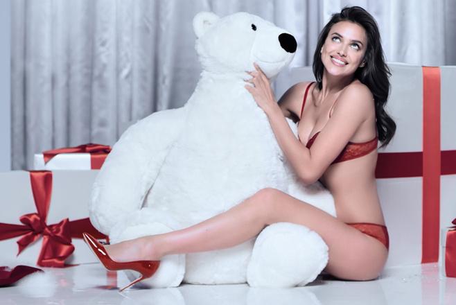 Ирина Шейк в нижнем белье: фото