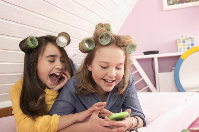 дети, смартфон