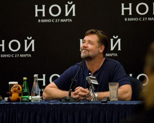 Рассел Кроу в Москве