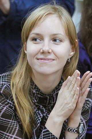 Кристина Заплатина, журналист, фото