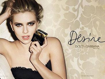 Скарлетт Йоханссон работает с Dolce & Gabbana не первый год