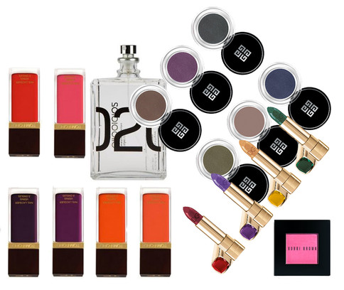 Dolce Gabbana, Bobbi Brown, Givenchy, Molecule, Tom Ford