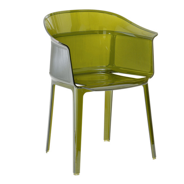 Кресло Papirus. Производитель: Kartell. Дизайн: Ронан & Эрван Буруллеки (Ronan & Erwan Bouroullec). Материал: поликарбонат.