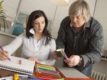 Александр и Екатерина Стриженовы серьезно отнесли к своей новой роли дизайнеров.