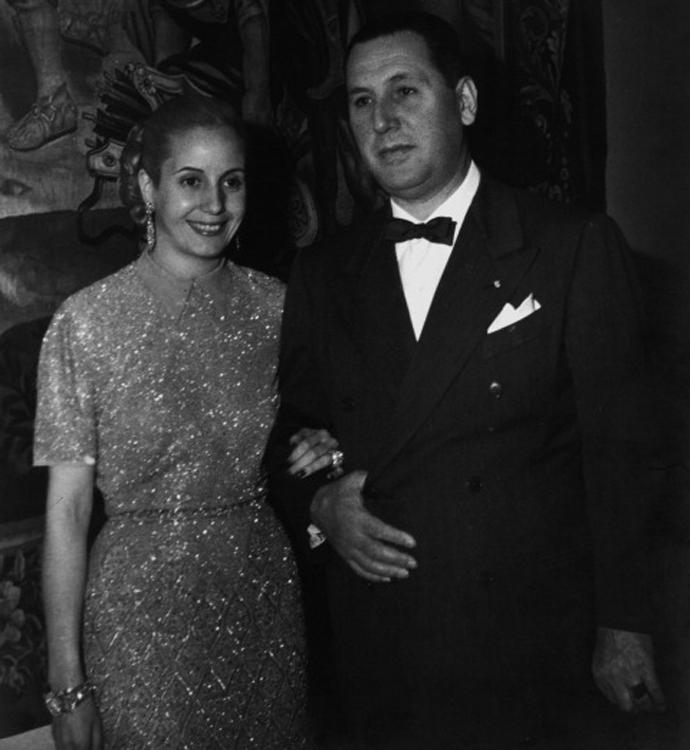 Эвита и Хуан Перон