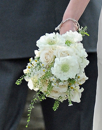 Букет невесты Кейт Мосс