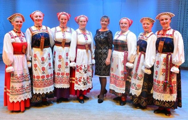 Национальный костюм: Пермский край фото
