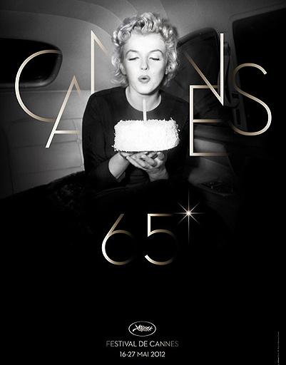 Мэрилин Монро поздравляет Канны с 65-летним юбилеем