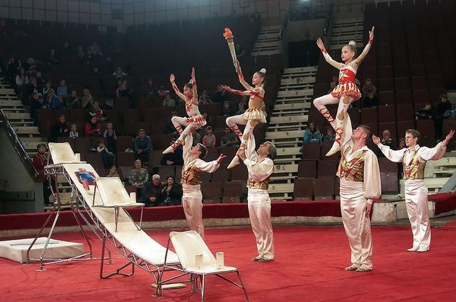 «Настоящий советский цирк»