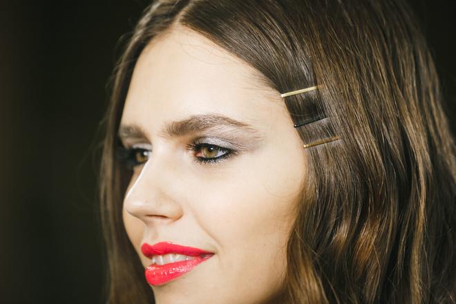 макияж с показа весенне-летней коллекции Chapurin