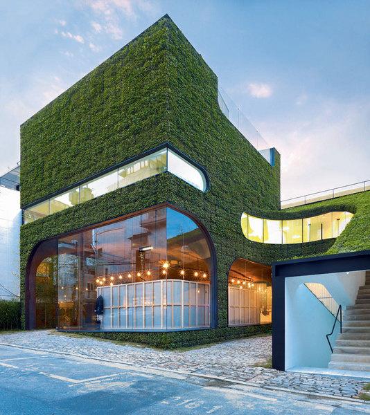 Бутик Анн Демельмейстер, архитектурное бюро Mass Studies, Сеул, 2007.