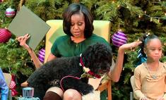 Пес Обамы поздравил детей с Рождеством