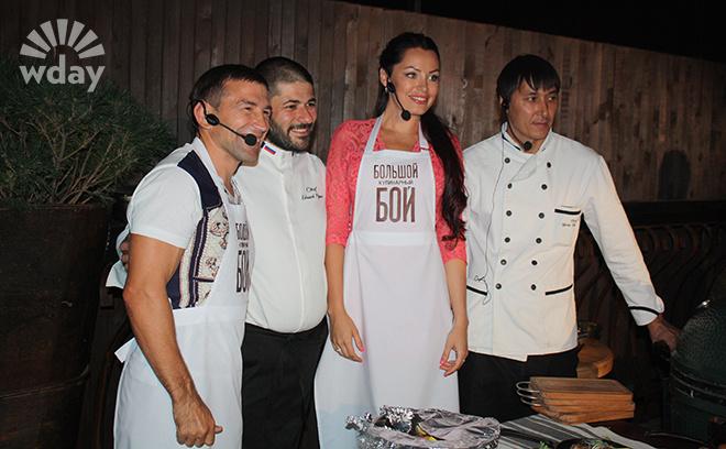 Большой кулинарный бой в ресторане Schneider-Weisse Мария Ерошенко Султан Ибрагимов