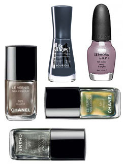 Chanel, Bourjois, Sephora by OPI