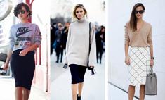 Носите все: юбка-карандаш для любых типов фигур