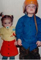 Мила Сивацкая с братом