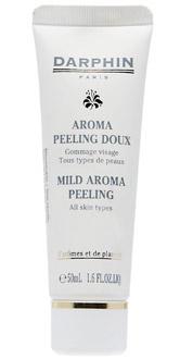 Мягкий ароматический пилинг, Mild Aroma Peeling, Darphin. Деликатно удаляет омертвевшие клетки и загрязнения за счет действия энзимов. Не раздражает кожу. Подходит даже для самой чувствительной кожи