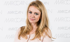 Вся в розовом: Милана Кержакова впервые вышла в свет после родов