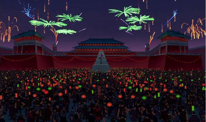 Место действия мультфильма «Мулан»