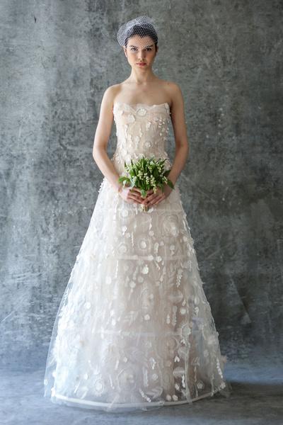 50 самых красивых платьев со Свадебной Недели Моды в Нью-Йорке | галерея [1] фото [32]