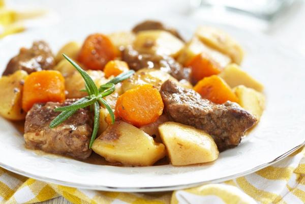 Жареная картошка с мясом - корейский рецепт. Видео