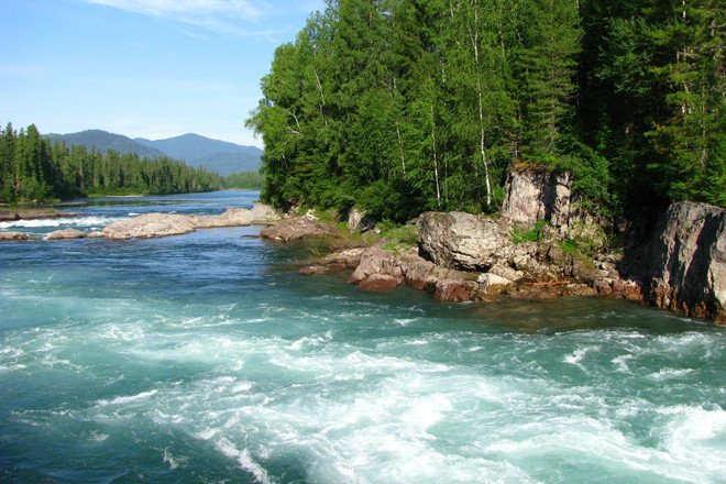 Кемерово. Река Мрассу
