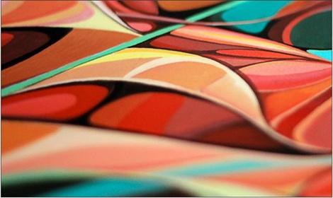 Иллюстрация российского дизайнера на обложке веера Pantone | галерея [1] фото [1]