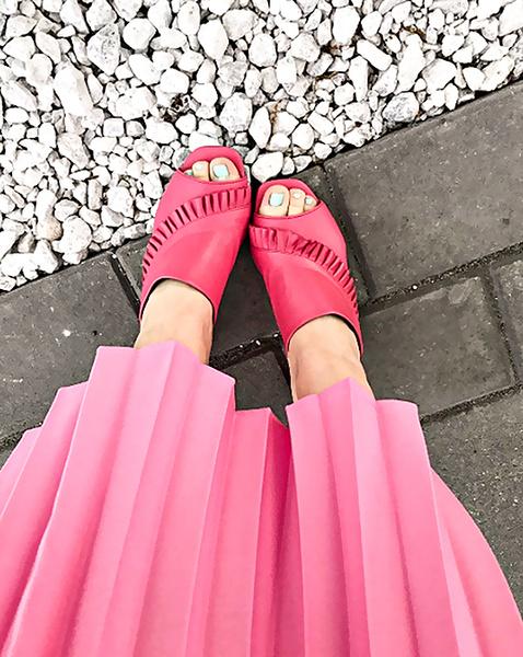 Розовый цвет: как и с чем сочетать