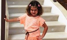 Певица Жасмин вывела четырехлетнюю дочь на подиум