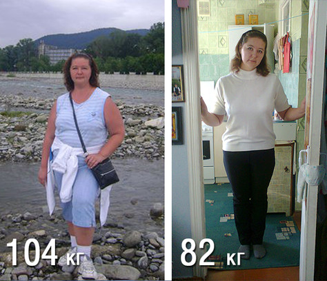 Похудение до и после истории фото