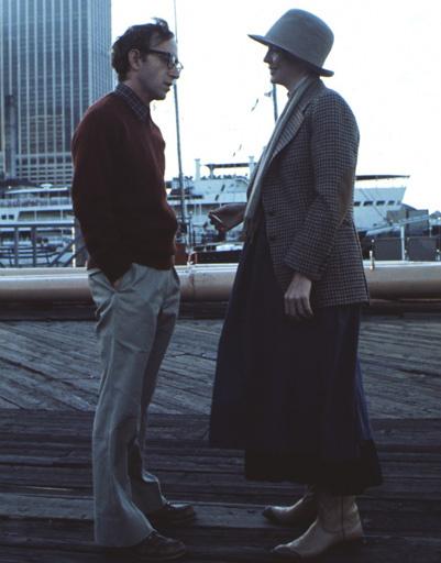"""Кадр из фильма """"Энни Холл"""", 1977 год"""