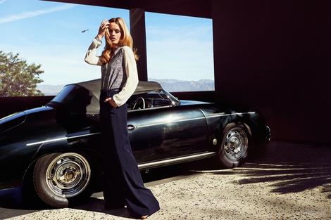 Лиззи, Джорджия Мэй Джаггер и Джерри Холл в рекламе Reserved   галерея [1] фото [4]