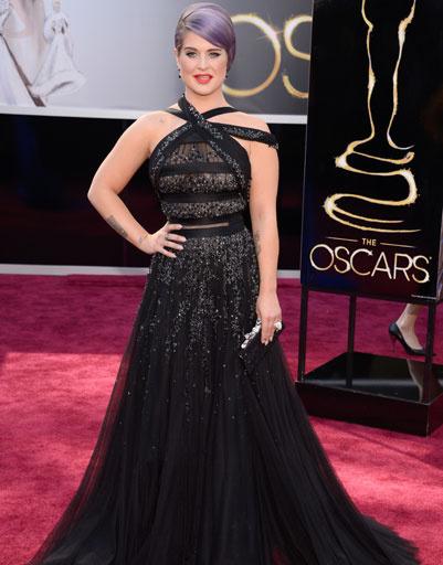 "Келли Осборн (Kelly Osbourne) на премии ""Оскар""-2013"