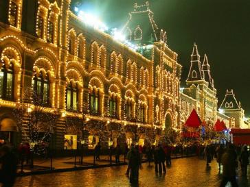 Жителей российской столицы ожидает теплая погода на Новый год