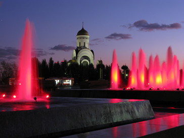 Фонтаны в Москве