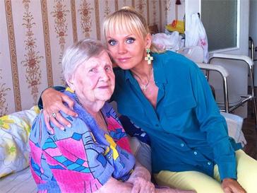 Валерия навестила родных в Аткарске.
