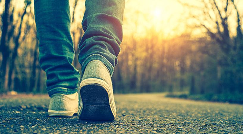 Больше ходить пешком!