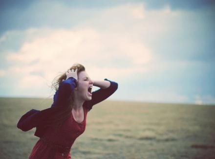 Кричать о своих чувствах