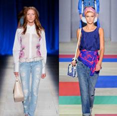 Модные джинсы весны: 4 главных тренда