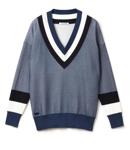 Объемный свитер Lacoste, 12 900 р.