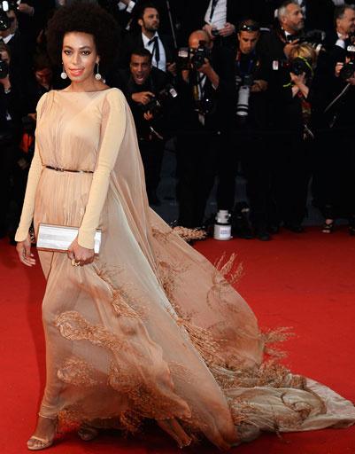 Соланж Ноулз (Solange Knowles) на 66-ом Каннском кинофестивале