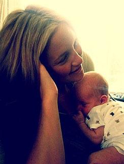 Кейт Хадсон (Kate Hudson) с младшим сыном