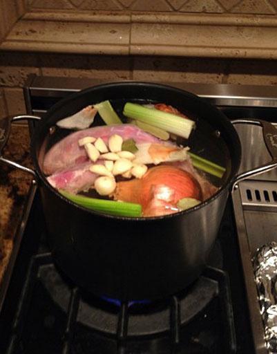 Приготовление соуса для индейки