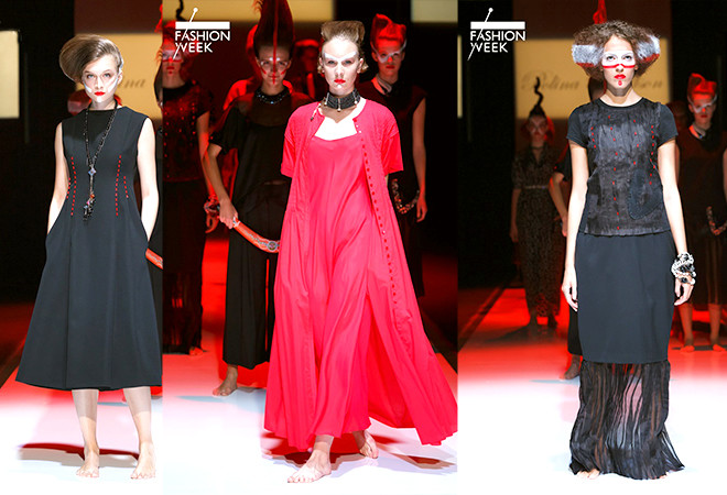 POLINA RAUDSON, St Petersburg Fashion Week SS 2015