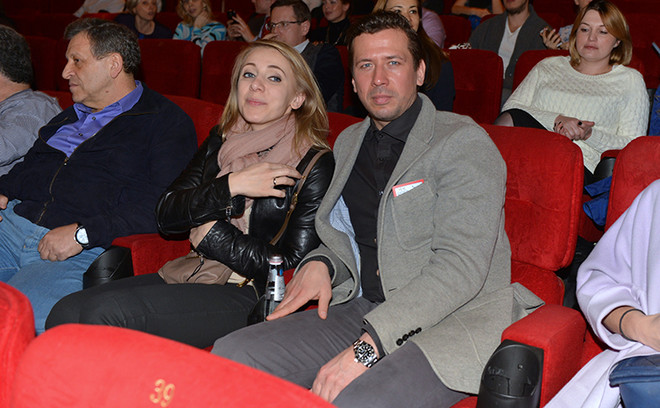 Андрей Мерзликин с женой Аней фото