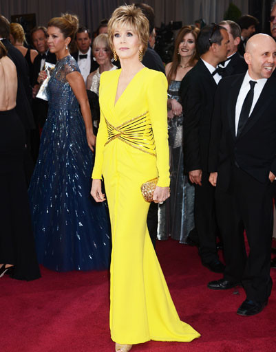 "Джейн Фонда (Jane Fonda) на премии ""Оскар""-2013"