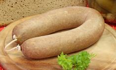 Домашняя печеночная колбаса: наберитесь терпения, потратьте время, и она отблагодарит вас нежнейшим вкусом