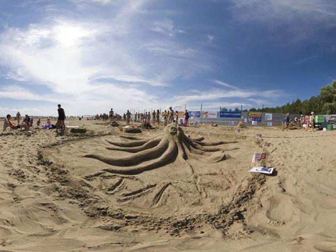 «Центральный пляж Академгородка»
